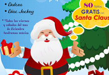Santa en Carolina Shopping Court 2012