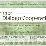 Invitación - Primer Diálogo Cooperativo