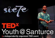 "Si cabe en tu mente, cabe en tu mundo: David Rodríguez ""Sie7e"" at TEDxYouth@Santurce"