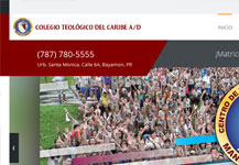 Colegio Teológico del Caribe – Página de Internet
