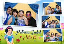 PhotoBooth – Qinceañero Patricia Isabel