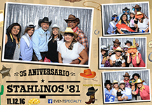 Photo Booth – Stahlinos Clase '81