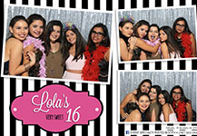 Photo Booth – Quinceañero Lola