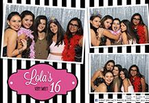 Photo Booth – Quinceañero Lola
