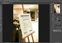 Remplazando un logo en una foto utilizando Photoshop CC