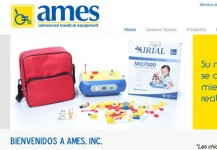 AMES, Inc. – Página de internet
