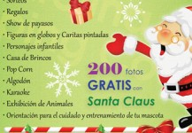 Santa en Carolina Shopping Court 2011