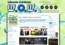 Librería Cristiana W.O.W. – Página de internet